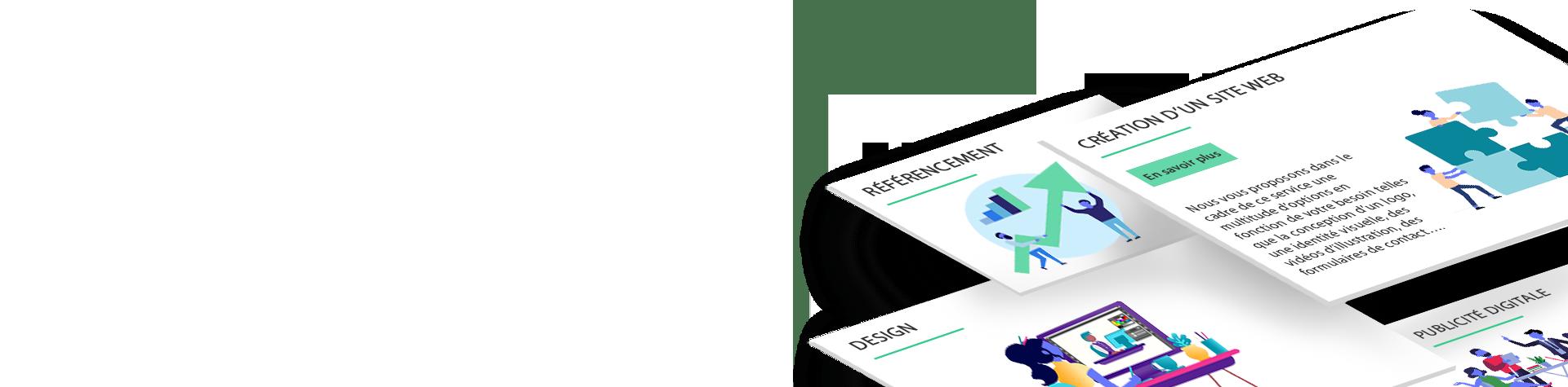 Bannière L'Agence du Site Web - Nos services
