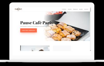 Réalisation et conception - Pause Café Paris