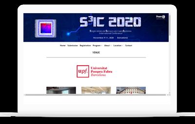 Réalisation et conception - Conférence internationale S3IC