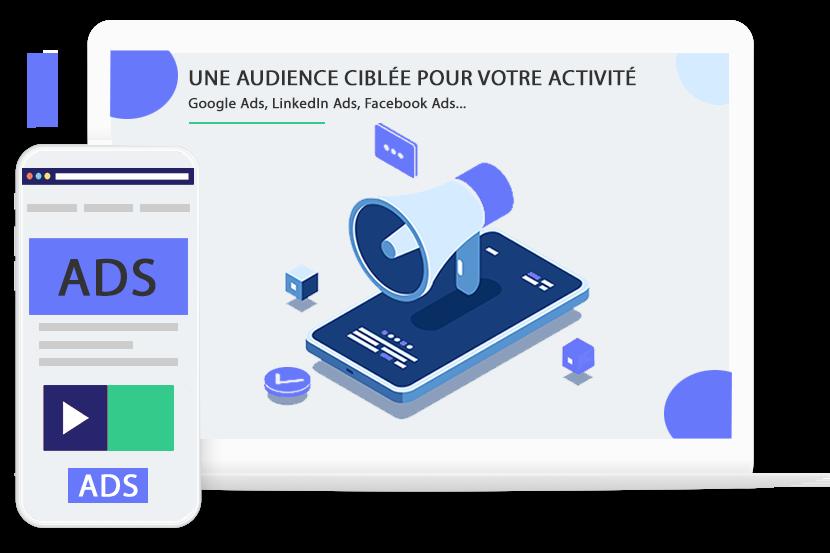Publicité digitale - une audience ciblée pour votre activité