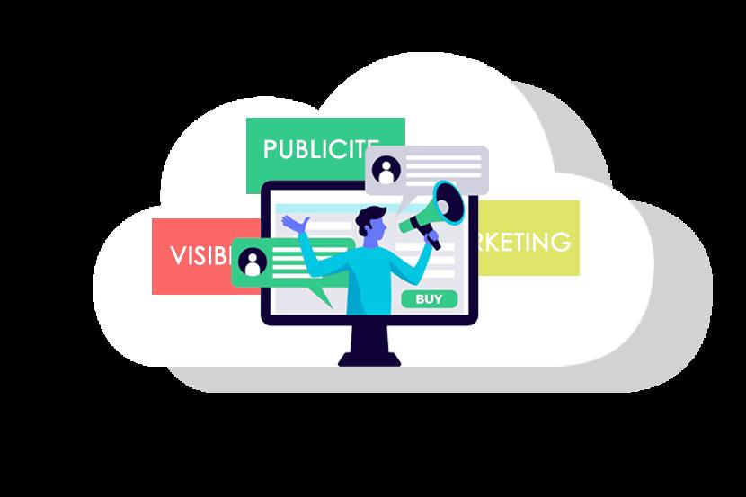 Publicité digitale - plan de communication